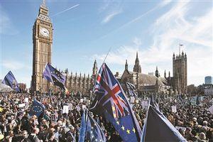 """欧盟向英国索要巨额""""分手费"""""""
