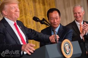 郭台铭:在美国投资是否有300亿美元