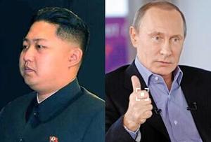 普京向金正恩致贺电 加强俄朝友好关系