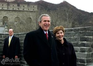 回顾历任美国总统夫妇中国行