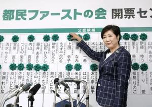日本东京都知事小池辞任党魁