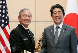 美军日裔太平洋司令哈里斯会见安倍谈日美同盟