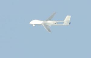 日本称疑似中国无人侦察机在东海飞行