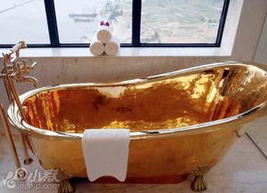 """越南酒店推出""""黄金套房"""""""