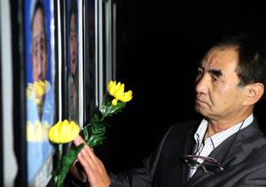 南京举行离世南京大屠杀幸存者灭灯仪式
