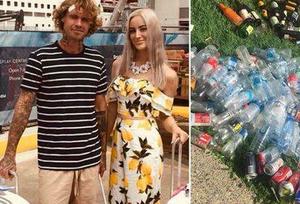 澳大利亚情侣计划捡塑料瓶 筹集婚礼钱
