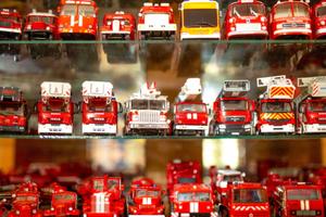 俄最大消防车模型收藏展