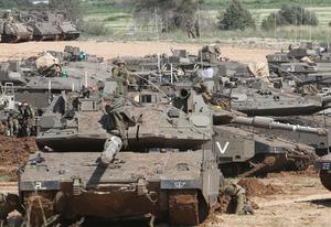 以色列向加沙地带周边增兵