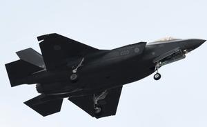 日本一架F-35战机从雷达上消失疑坠毁
