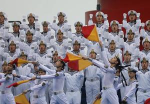 多国海军活动联合军乐展示举行