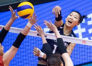 女排力克韩国夺世界女排联赛澳门站冠军