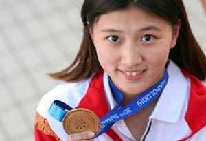 中国跳水队摘得第30届大运会首金