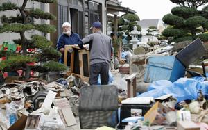 """日本拟将台风""""海贝思""""定为""""特定紧急灾害"""""""