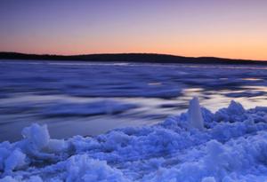 黑龙江呼玛段进入冬季流冰期