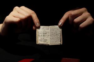 夏洛蒂·勃朗特少年时创作的微型手稿被拍卖