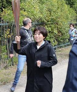 日本首棒火炬手野口希望