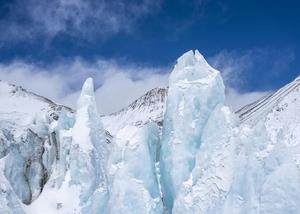 壮美珠峰冰塔林