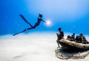 西班牙兰萨罗特岛水下博物馆