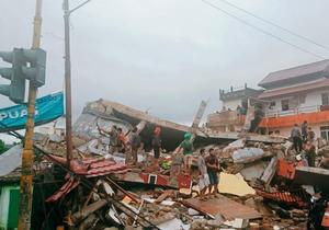 印尼西苏拉威西省发生6.2级地震