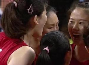 中国女排3-0胜意大利