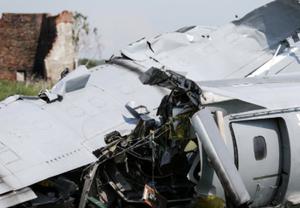 俄罗斯一架飞机发生硬着陆事故