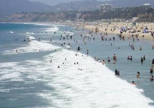强劲热浪袭击美国加州