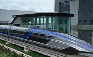时速600公里高速磁浮交通系统下线