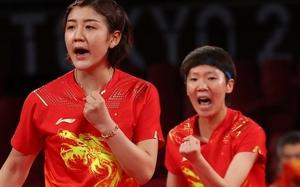 中国队获得东京奥运乒乓球女团冠军