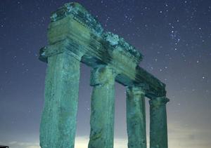 土耳其夜晚繁星闪烁